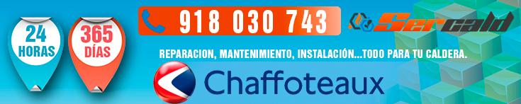 Servicio tecnico chaffoteaux en madrid for Servicio de calderas