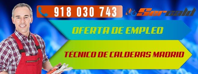Oferta de empleo tecnico de calderas madrid for Tecnico calderas