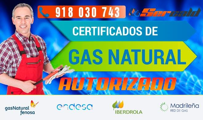 Certificados de gas natural en madrid 918030743 for Tecnico calderas madrid