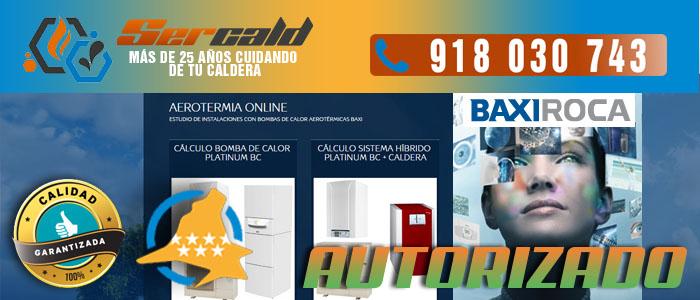 Aerotermia online Baxi Roca