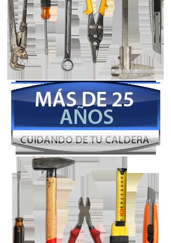 Herramientas Servicio Tecnico de Calderas Madrid