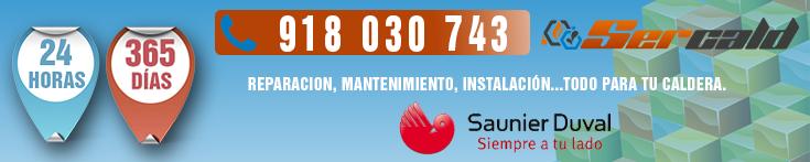Servicio Tecnico Saunier Duval en Valdemoro