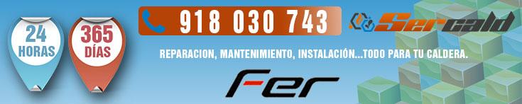 Servicio Tecnico Fer Autorizado. Termoclub, S.A. Telefono urgente.