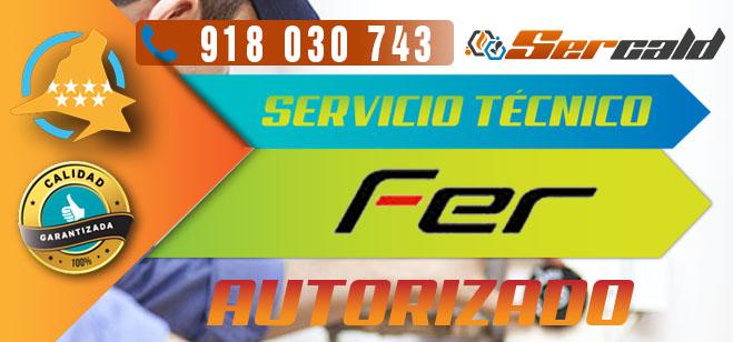 Servicio Tecnico Fer Autorizado. Termoclub, S.A. Productos del fabricante.