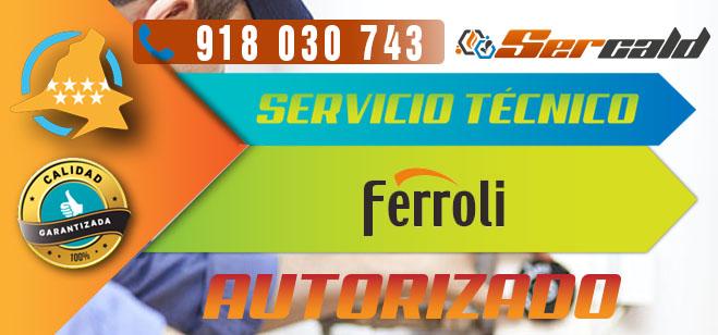 Servicio Tecnico Ferroli Autorizado. Productos del fabricante.