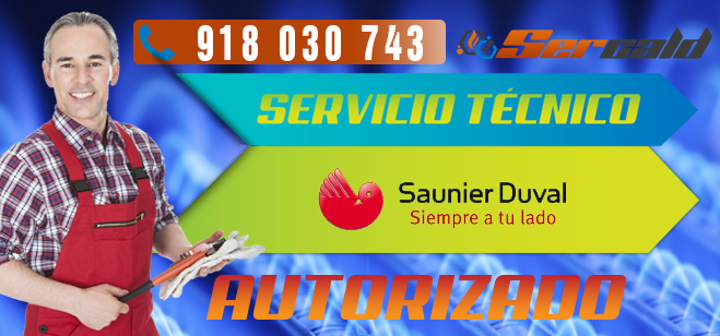 Servicio Tecnico Saunier Duval en Alcobendas Autorizado