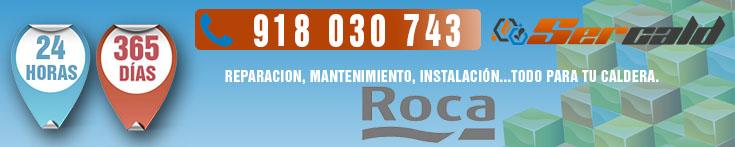 Servicio tecnico Roca en Collado Mediano. Especialistas en reparacion y mantenimiento de calderas Roca. 24 horas, 365 dias del año.