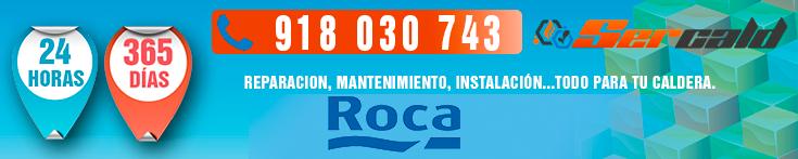 reparacion de calderas roca en Madrid