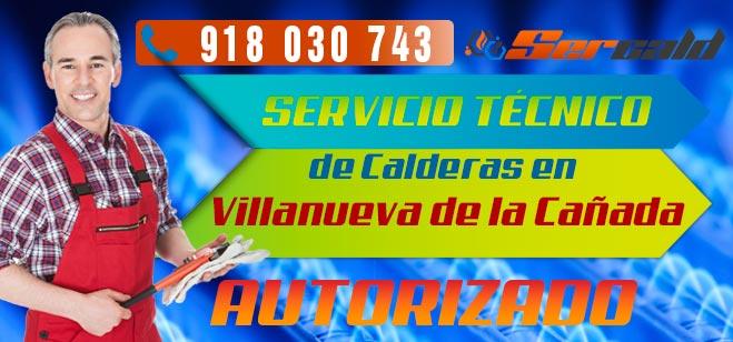 Servicio Tecnico de calderas Villanueva de la cañada