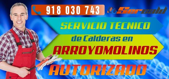 Servicio Tecnico de calderas Arroyomolinos