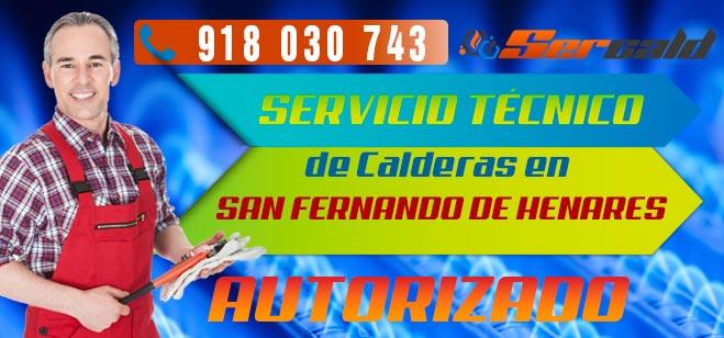 Servicio Tecnico de calderas San Fernando de Henares