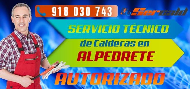 Servicio Tecnico de calderas Alpedrete