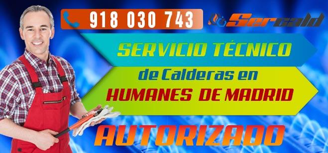 Servicio Tecnico de calderas Humanes de Madrid