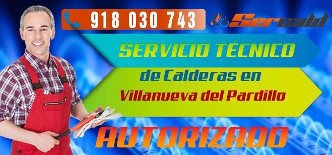 Servicio Tecnico de calderas Villanueva del Pardillo