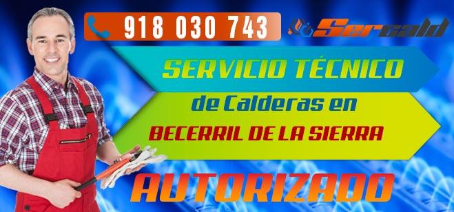 Servicio Tecnico de calderas Becerril de la Sierra