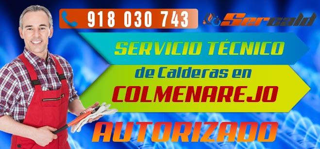Servicio Tecnico de calderas Colmenarejo