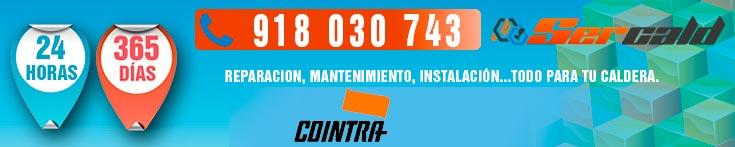 reparacion de calderas Cointra en Alcobendas