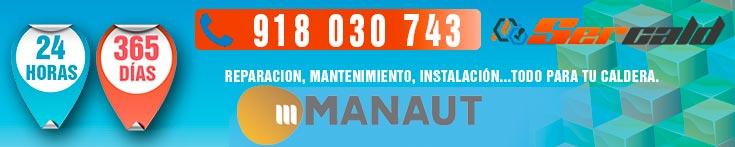 mantenimiento y reparacion de calderas Manaut Parla