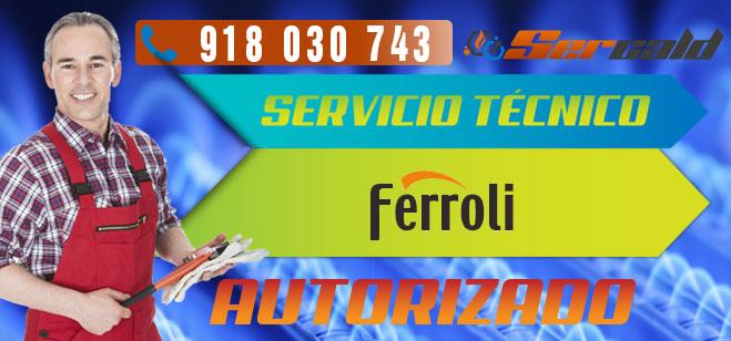 Servicio tecnico Ferroli San Sebastian de los Reyes. Especialitas en reparacion y mantenimiento de calderas Ferroli.