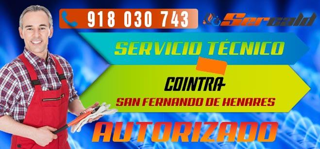 Servicio Tecnico Cointra San Fernando de Henares