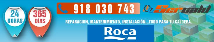 reparacion de calderas Roca en Colmenarejo