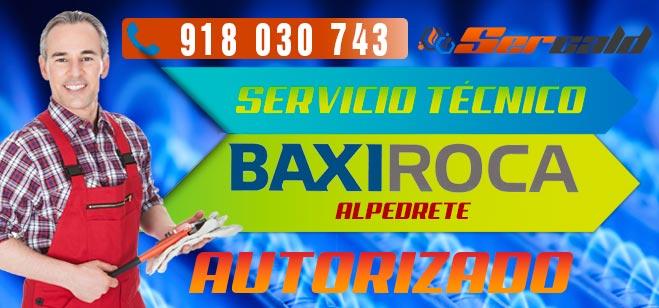 Servicio Tecnico BaxiRoca Alpedrete