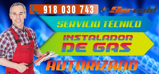 Instalador de gas autorizado Madrid
