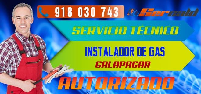 Instalador de gas autorizado Galapagar