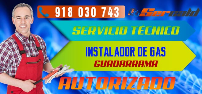 Instalador de gas autorizado Guadarrama