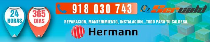 Reparacion de calderas Hermann en Madrid
