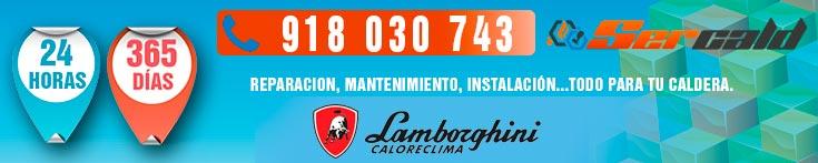 Reparacion de calderas Lamborghini Madrid.