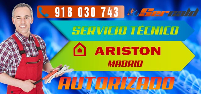 Servicio Técnico Calderas Ariston Madrid