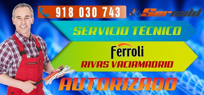 Servicio Técnico Calderas Ferroli en Rivas Vaciamadrid. Especialitas en reparacion y mantenimiento de calderas Ferroli.