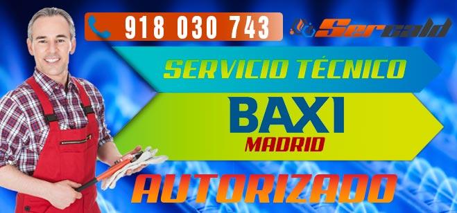 Servicio Técnico Calderas Baxi en Madrid