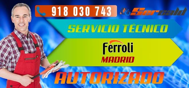 Servicio Técnico Calderas Ferroli en Madrid