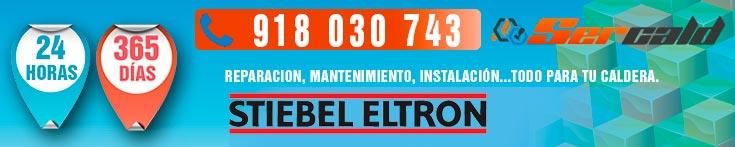 reparación de calderas Stiebel Eltron en Madrid