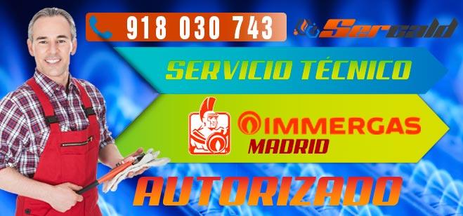 Servicio Técnico Calderas Immergas en Madrid