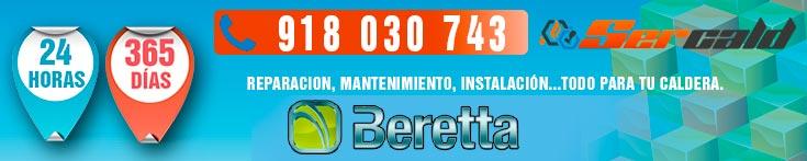 Reparacion de calderas Beretta en Madrid.