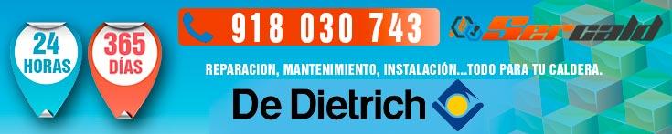 reparación de calderas De Dietrich en Madrid