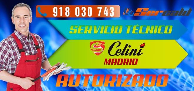 Servicio Técnico Calderas Celini en Madrid