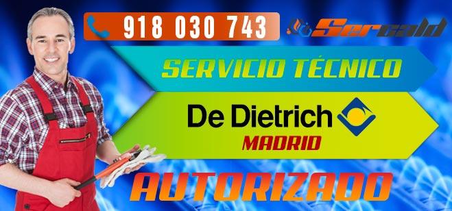 Servicio Técnico Calderas De Dietrich en Madrid