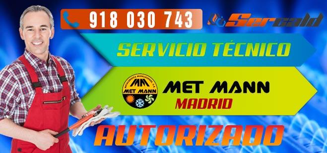 Servicio Técnico generadores de aire caliente Met Mann Madrid