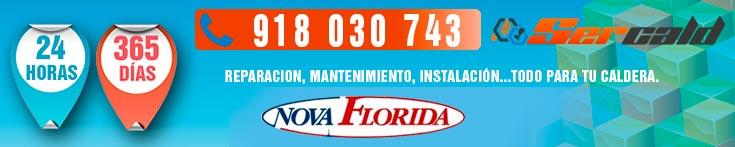 Servicio Tecnico Nova Florida en Madrid 24 Horas 365 Dias