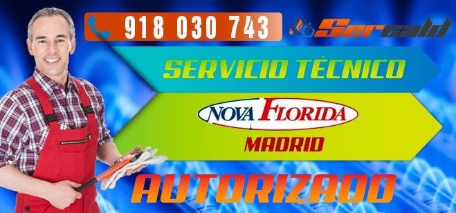 Servicio Técnico Calderas Nova Florida en Madrid
