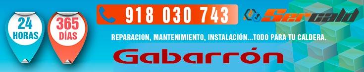 reparación de calderas Gabarrón en Madrid