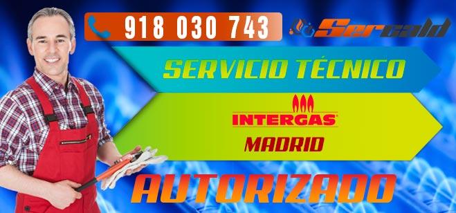 Servicio Técnico Calderas Intergas en Madrid