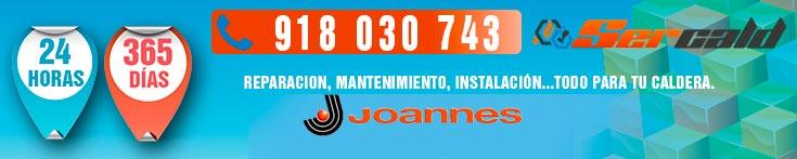 Reparación de calderas Joannes en Madrid