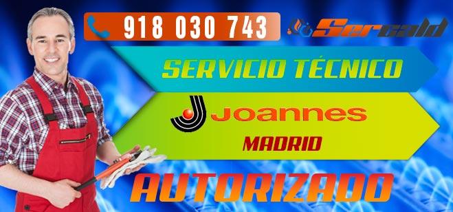 servicio técnico Joannes en Madrid