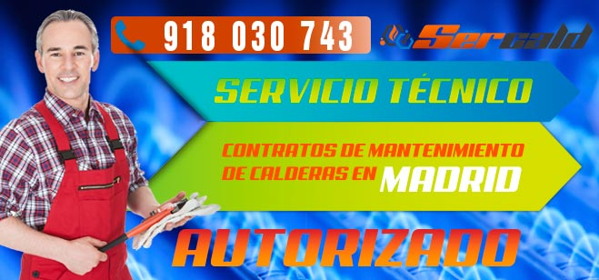 Contratos de mantenimiento de calderas en Madrid