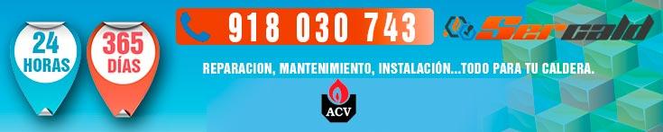 Reparacion de calderas ACV en Madrid.